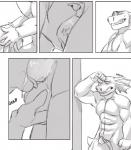 anthro ball_fondling balls clothed clothing comic deep_throat english_text fellatio female fur hair male male/female mammal nude oral reptile saliva sasha scalie sex text viktria xander   Rating: Explicit  Score: 3  User: derptron5000  Date: February 18, 2015