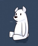 ... bear black_nose fur ice_bear male mammal polar_bear simple_background sitting solo toy-bonnie we_bare_bears white_fur  Rating: Safe Score: 6 User: Vallizo Date: August 10, 2015