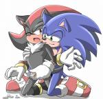 angelofhapiness blush chest_tuft clothing cum duo footwear fur green_eyes handjob male male/male open_mouth penis reach_around red_eyes shadow_the_hedgehog sonic_(series) sonic_the_hedgehog tuft  Rating: Explicit Score: 0 User: Untamed Date: August 13, 2015