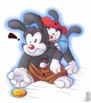 anal animaniacs brothers cub duo hat hi_res incest male male/male oral penis rimming roarey_raccoon sex sibling uncut wakko_warner yakko_warner young  Rating: Explicit Score: 6 User: Pokelova Date: October 21, 2014""