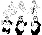 bear bench big_breasts breasts cellphone comic female gender_transformation goo male mammal monochrome panda phone rubber sequence slime solo transformation zho  Rating: Questionable Score: -1 User: tartcore Date: August 08, 2015