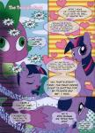 2014 butt comic english_text equine female feral friendship_is_magic fur hair horse mammal multicolored_hair my_little_pony pony purple_fur purple_hair scalie spike_(mlp) text translated twilight_sparkle_(mlp) two_tone_hair  Rating: Explicit Score: 1 User: Princess_Cadance_R34 Date: October 24, 2014