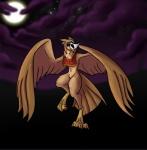 alorix avian barn_owl bird female harpy mask monster monster_girl owl solo wings  Rating: Safe Score: 4 User: Alorix Date: October 01, 2015