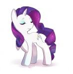 cutie_mark equine female feral friendship_is_magic hair horn mammal my_little_pony nedoiko purple_hair rarity_(mlp) solo unicorn white_skin   Rating: Safe  Score: 7  User: Daniruu  Date: September 30, 2012