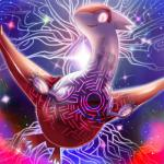 abstract_background ambiguous_gender constellation eruku feathers feral latias legendary_pokémon looking_at_viewer nintendo open_mouth pokemon_super_mystery_dungeon pokémon red_feathers runes solo space video_games white_feathers  Rating: Safe Score: 11 User: DeltaFlame Date: April 05, 2016
