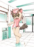 anthro canine cat clothing cute feline female hat hospital mammal momiji_yu-ga nurse panties solo underwear uniform   Rating: Explicit  Score: 7  User: The Dog In Your Guitar  Date: April 07, 2007