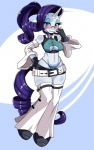 anthro anthrofied blush clothed clothing digital_media_(artwork) equine eyewear female friendship_is_magic glasses hi_res horn mammal my_little_pony rarity_(mlp) solo sssonic2 unicorn  Rating: Questionable Score: 17 User: masterwave Date: January 04, 2013