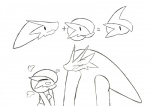 <3 black_and_white blaziken duo_focus family flirting gallade gardevoir group monochrome nintendo pencil_(artwork) pictographics pokémon traditional_media_(artwork) video_games worried yougrover  Rating: Questionable Score: 6 User: yougrover Date: October 27, 2015