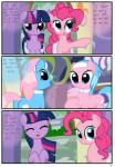 aloe_(mlp) blue_body blue_eyes blue_hair collar comic cutie_mark dialogue earth_pony equine female friendship_is_magic hair headband hi_res horn horse inside lotus_(mlp) mammal multicolored_hair my_little_pony pink_body pink_hair pinkie_pie_(mlp) pony purple_body purple_eyes purple_hair pyruvate saddle_bag spa text three_color_hair twilight_sparkle_(mlp) unicorn  Rating: Safe Score: 3 User: DatPhotoshopDoeee! Date: November 26, 2015