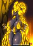2018 absurd_res anthro breasts capcom digital_media_(artwork) elder_dragon female hi_res kulve_taroth looking_at_viewer monster_hunter monster_hunter_world scalie solo suirano video_gamesRating: QuestionableScore: 16User: lemongrabDate: May 23, 2018