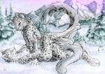 2009 2010 animated anthro breasts couple digitigrade duo eyes_closed feline female leg_wrap leopard loop lying male male/female mammal missionary_position mountain nipples nude on_back open_mouth outside paws penetration raised_tail ruaidri sex snow snow_leopard spots tasteful tongue washa winter   Rating: Explicit  Score: 20  User: FeralBeast  Date: October 02, 2010