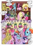 applejack_(mlp) blood blue_eyes bound color comic cutie_mark dialogue english_text equine female feral fluttershy_(mlp) friendship_is_magic group hair headgear horn horse hug long_hair mammal mohawkrex multicolored_hair my_little_pony nosebleed pegasus pink_hair pinkamena_(mlp) pinkie_pie_(mlp) pony purple_hair rainbow_dash_(mlp) rainbow_hair rarity_(mlp) rope smile square_crossover text twilight_sparkle_(mlp) unicorn whysoseriouss wings   Rating: Safe  Score: 5  User: Falord  Date: August 29, 2012