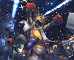 audience boxing boxing_gloves camera carrying cat cellphone clothed clothing eyes_closed feline fight fight_club fur grey_fur grin group male mammal microphone open_mouth orange_eyes orange_fur phone shorts shota sport stadium suit topless towel whiskers young Nion  Rating: Safe Score: 5 User: israfell Date: February 03, 2016
