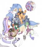 abdominal_bulge abra ambiguous_gender anal_vore animal_genitalia animal_pussy anthro anus arbok big_teats blush caprine cloaca crush ekans equine_pussy etheross female feral gardevoir goat gogoat group hi_res hooves horn inflation lapras larger_female mammal nintendo open_mouth penetration pokémon pussy pussy_juice reptile sadism scalie seviper simple_background sitting size_difference smaller_female snake squash teats telekinesis tentacles unbirthing unfinished video_games vore water_inflation what  Rating: Explicit Score: 28 User: Alumnus Date: December 03, 2015