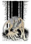 2017 anisis arne black_nose duo eyes_closed female feral fur hooves horn mammal tan_fur traditional_media_(artwork)Rating: SafeScore: 2User: MillcoreDate: July 20, 2018
