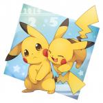 blush cute duo eyes_closed feral fur happy jumping kemono looking_at_viewer male nintendo open_mouth pikachu pokémon standing unrealplace video_games yellow_fur   Rating: Safe  Score: 30  User: Blinx_the_Cat  Date: February 05, 2014