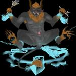 4_toes alpha_channel anal anal_fisting anal_masturbation animal_genitalia anthro anus armpit_hair balls chain charr claws digitigrade disembodied_hand feline fisting fur grey_fur grin guild_wars horn licking looking_at_viewer male mammal masturbation muscles nude open_mouth orange_fur pawpads paws penis precum restrained saliva scepter sheath solo teeth toe_claws toes toned tongue tongue_out tuft velrizoth video_games weapon yellow_eyes  Rating: Explicit Score: 3 User: Velrizoth Date: July 02, 2015""