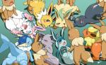 balls black_fur black_nose blue_eyes blue_fur blush brown_eyes brown_fur butt canine cum cum_in_mouth cum_inside cum_on_face cute eevee eeveelution erection espeon eyes_closed female feral flareon fur glaceon group group_sex jolteon koorinezumi leafeon male male/female mammal nintendo open_mouth paws penetration penis pokémon purple_eyes purple_fur pussy sex simple_background smile sylveon tears tongue tuft umbreon vaginal vaginal_penetration vaporeon video_games yellow_fur  Rating: Explicit Score: 27 User: BlueF Date: July 07, 2015