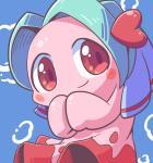 <3 blue_background blush bubble female fish marine mattel nettsuu red_eyes simple_background smile the_legendary_starfy_(series)Rating: SafeScore: 2User: JasperinityDate: March 27, 2017