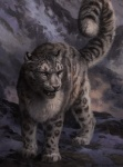 2015 ambiguous_gender black_fur fangs feline feral fur grey_eyes grey_fur kenket leopard mammal mountain open_mouth snow snow_leopard solo spots tongue   Rating: Safe  Score: 9  User: TheGreatWolfgang  Date: March 17, 2015