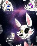 animatronic animatronicbunny anthro avian bird blue_eyes canine chica_(fnaf) chicken eyelashes fangs female five_nights_at_freddy's five_nights_at_freddy's_2 fox machine mammal mangle_(fnaf) mechanical pink_bow pink_cheeks purple_eyes robot sharp_teeth space teeth toy_chica_(fnaf) video_games yellow_eyes   Rating: Safe  Score: 4  User: Vallizo  Date: March 21, 2015