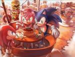 amy_rose anthro black_nose blue_eyes cake candy clothing cup detailed doughnut dr._eggman female food gloves green_eyes group hair headband hedgehog human knuckles_the_echidna male mammal momo_alto open_mouth pink_hair red_eyes shadow_the_hedgehog short_hair smile sonic_(series) sonic_(sonic) sonic_colors sweet_mountain table video_games  Rating: Safe Score: 8 User: Cαnε751 Date: June 03, 2015
