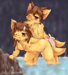 2015 5_fingers all_fours anthro areola balls blush breasts brown_eyes brown_hair canine cave chest_tuft cub cum cum_in_pussy cum_inside doggystyle duo erection female fox from_behind fur hair kemono male male/female mammal nipples open_mouth orange_fur penetration penis pussy sex sitting sweat towel tuft vaginal vaginal_penetration wahitouppe water young   Rating: Explicit  Score: 12  User: Just_Another_Dragon  Date: February 21, 2015