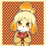 <3 animal_crossing anthro black_nose blonde_hair candy canine clothing dog female food fur hair hair_ornament isabelle_(animal_crossing) mammal nintendo short_hair solo uniform unknown_artist video_games white_fur yellow_fur  Rating: Safe Score: 2 User: Cαnε751 Date: November 09, 2015