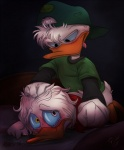 anal anal_penetration anthro avian bird brothers cakenoodlepaddy crying disney duck duo forced hat huey_duck incest louie_duck male male/male penetration quack_pack rape sex sibling tears   Rating: Explicit  Score: 7  User: Pokelova  Date: December 23, 2014