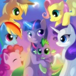applejack_(mlp) blonde_hair blue_eyes blue_fur cowboy_hat cub cutie_mark dragon equine eyes_closed female feral fluttershy_(mlp) friendship_is_magic fur grass green_eyes group hair hat horn horse jack-a-lynn magic male mammal mist moon multicolored_hair my_little_pony orange_fur pegasus pink_fur pink_hair pinkie_pie_(mlp) pony purple_eyes purple_fur purple_hair purple_scales rainbow_dash_(mlp) rainbow_hair rarity_(mlp) scalie sky smile spike_(mlp) star twilight_sparkle_(mlp) two_tone_hair unicorn white_fur wings yellow_fur young   Rating: Safe  Score: 6  User: Granberia  Date: September 08, 2012