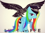 army equine female feral friendship_is_magic hair hat looking_at_viewer mammal military multicolored_hair my_little_pony nazi passiveusererwinwoz pegasus rainbow_dash_(mlp) rainbow_hair solo uniform wings   Rating: Safe  Score: 1  User: ErwinWolz  Date: May 21, 2013