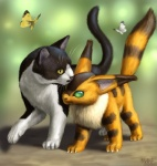2010 ambiguous_gender arthropod butterfly cat chest_tuft claws feline feral fox_squirrel fur green_eyes insect mammal nausicaä_of_the_valley_of_the_wind realistic taku teto tuft whiskers  Rating: Safe Score: 12 User: AnacondaRifle Date: February 11, 2012""