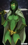 alien breasts brown_nipples center_opening clothing face_paint female gamora gloves green_hair green_skin guardians_of_the_galaxy hair humanoid leotard lips long_hair marvel melee_weapon navel nesoun nipples not_furry solo space star swimsuit sword weapon  Rating: Questionable Score: 2 User: my_bad_english Date: October 23, 2015