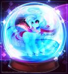 2015 <3 cape clothing cutie_mark equine female friendship_is_magic gem glowing horn koveliana mammal my_little_pony snow_globe solo sparkles trixie_(mlp) unicorn  Rating: Safe Score: 2 User: 2DUK Date: November 29, 2015
