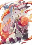 anthro aoki6311 blaze_the_cat cat feline female fire looking_at_viewer mammal solo sonic_(series) yellow_eyes   Rating: Safe  Score: 3  User: Juni221  Date: July 29, 2014