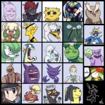 absurd_res ambiguous_gender anthro beartic black_(pokémon) black_eyes blue_eyes blush brown_eyes canine cofagrigus conkeldurr creepy dialogue electabuzz english_text feline female fire food fruit garbodor gardevoir gengar granbull gums haunter hi_res hilbert_(pokémon) human humanoid hyena joltik legendary_pokémon lilligant male mammal maractus mawile melon meme mewtwo multiple_images nintendo noctowl open_mouth pokémon pokémon_(species) poochyena professor_elm purple_eyes red_eyes samurott sharp_teeth shuckle smile solo swanna teeth text typhlosion vaporotem video_games watermelon what whimsicott zoroark