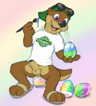 anal anal_penetration balls blush bottomless clothed clothing cobalthusky easter easter_egg egg erection half-dressed hat holidays male mammal mascot mustelid otter penetration penis shirt solo uncut   Rating: Explicit  Score: 6  User: Pokelova  Date: April 02, 2013