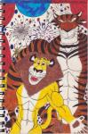 abs alex_the_lion anthro biceps dreamworks duo fireworks madagascar male muscles pecs vitaly_the_tiger   Rating: Safe  Score: 1  User: xes  Date: October 21, 2014