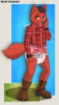 anthro bear blush bolf boots canine clothing diaper footwear fur infantilism male mammal mercy red_fur solo tools wolf wrench yuniwolfsky  Rating: Safe Score: 4 User: Yuniwusky Date: August 05, 2013