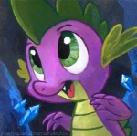 2013 cave crystals dragon fangs feral friendship_is_magic green_eyes kenket male my_little_pony portrait scalie solo sophiecabra spike_(mlp) standing  Rating: Safe Score: 8 User: 2DUK Date: May 16, 2013