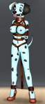"""anthro auction bdsm bondage bound breasts canine dalmatian dog dotsy_(character) female folwilliar forced mammal pussy slave solo  Rating: Explicit Score: 1 User: FusRoDerp Date: April 22, 2015"""""""