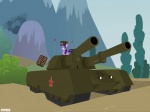 command_and_conquer crossover equine female feral friendship_is_magic hat horn mammal mammoth_tank my_little_pony red_alert red_star solo twilight_sparkle_(mlp) unicorn unknown_artist ushanka   Rating: Safe  Score: 3  User: Ohnine  Date: June 18, 2011