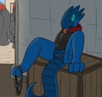 2015 aliasing animal_genitalia anthro bottomless cloaca clothed clothing crowd female flat_chested half-dressed kobold lolori presenting public pussy reptile scalie smile solo_focus spread_legs spreading tongue tongue_out trout_(artist)  Rating: Explicit Score: 1 User: Aphrodesiac Date: August 01, 2015