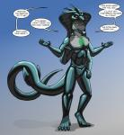 anthro black_skin bonding cock_tongue dialogue endium english_text garrus_kayric goo living_suit lizaphin male multi_limb multiple_arms procene reptile rubber scales scalie slime snake solo suit symbiote text  Rating: Explicit Score: 5 User: Garrus Date: January 10, 2014""