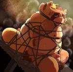 "back_to_back bdsm blush bondage bound chubby drooling duo gag kinoshita-jiroh male mammal nipple_pinch penis precum red_panda saliva sex_toy steam sweat tanuki  Rating: Explicit Score: 6 User: Zest Date: April 06, 2015"""