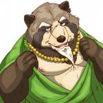 2018 anthro brown_fur canine clothed clothing fur gyobu male mammal moobs nipples overweight overweight_male scar solo tanuki tokyo_afterschool_summoners オトキチRating: SafeScore: 2User: mapachitoDate: July 21, 2018
