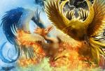ambiguous_gender articuno avian beak bird electricity feathers fire flying legendary_pokémon moltres nintendo outside pokémon ruth-tay snow spread_wings video_games wings zapdos  Rating: Safe Score: 4 User: slyroon Date: December 12, 2014