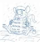 anthro barefoot begging chipp digital_drawing_(artwork) digital_media_(artwork) emenius front_view headgear homeless looking_at_viewer male mammal monochrome outside price prostitution raining rat rodent sad sign sitting solo spread_legs spreading whiskers  Rating: Questionable Score: 0 User: Circeus Date: October 09, 2015