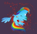 blood blue_feathers blue_fur equine feathers female friendship_is_magic fur gore hair mammal multicolored_hair multicolored_tail my_little_pony pegasus rainbow_dash_(mlp) rainbow_fur rainbow_hair rainbow_tail solo unknown_artist vomit wings  Rating: Explicit Score: -9 User: Princess_Cadance_R34 Date: November 15, 2014