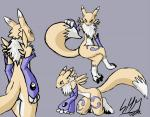 butt canine digimon fluff fox fur mammal renamon sketch smd   Rating: Safe  Score: 9  User: smd  Date: March 20, 2014